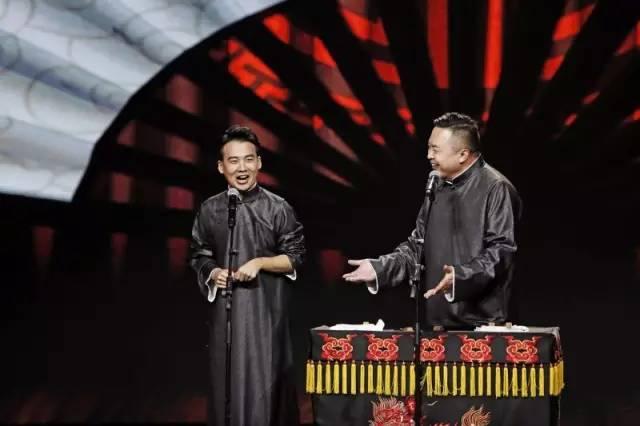 郭麒麟阎鹤祥两位老师在决赛的舞台上用《说学逗唱》这部作品,为他们
